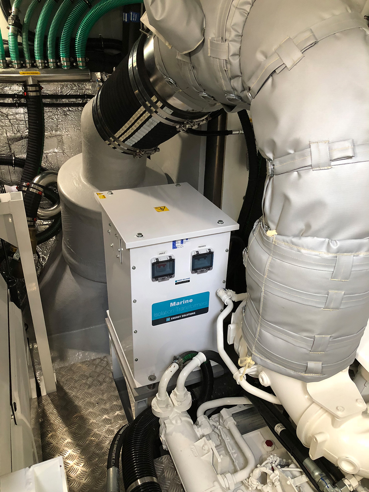 Energy Solutions Marine Isolation Transformers Plug Not A Socket Feeding The Boat Ac System Custom