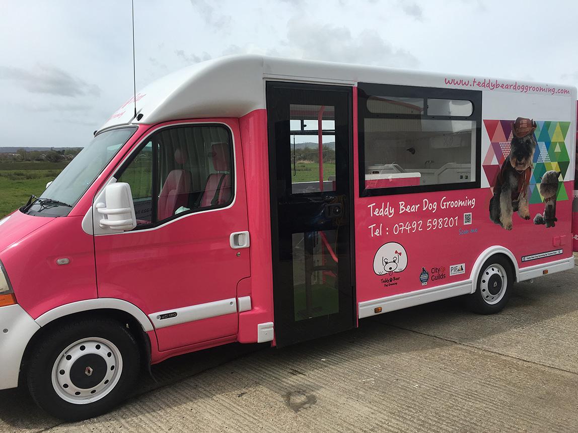 Energy Solutions Dog Grooming Vans Gain Complete
