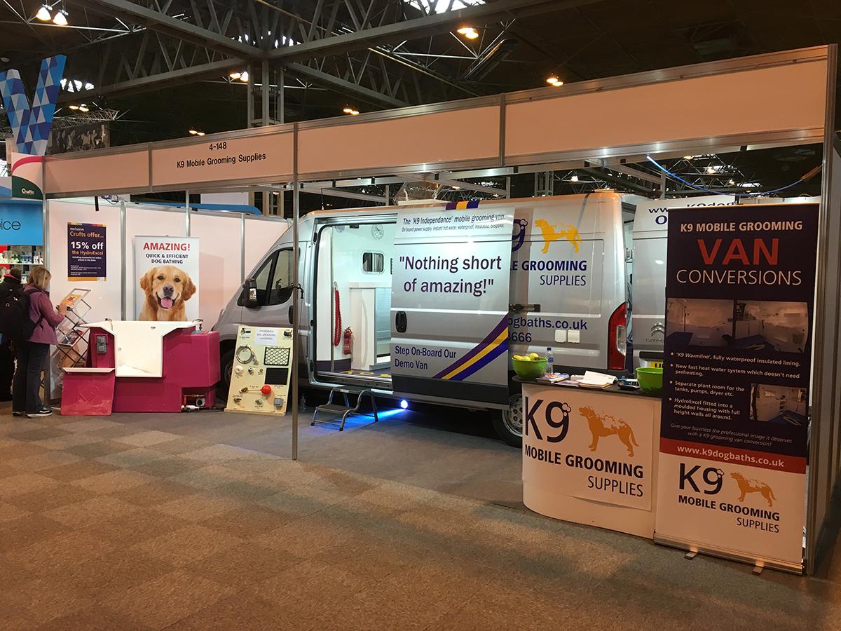 Hybrid Power For K9 Dog Grooming Van