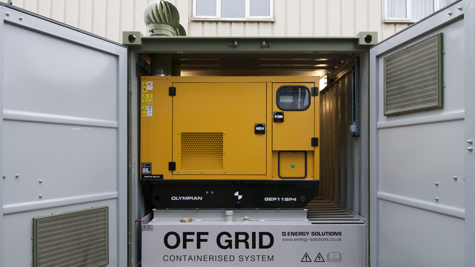 Energy Solutions Off Grid Containerised System
